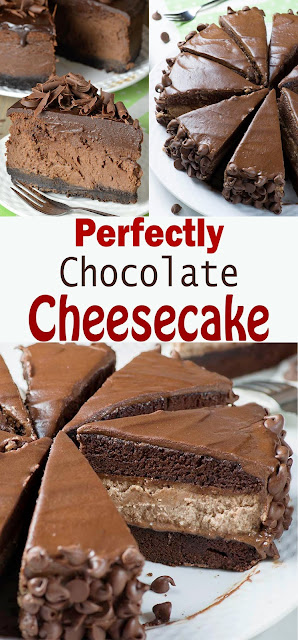 Perfectly Chocolate Cheesecake Recipe