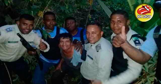 Así rescataron a un comerciante secuestrado en Guatire y se sacan la selfie