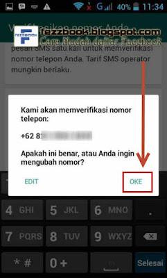 bagaimana cara daftar akun whatsApp baru