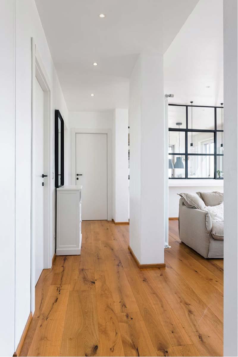 corridoio - appartamento SD by Nomade Architettura