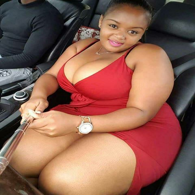 Black fat woman