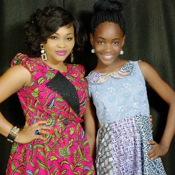 mercy aigbe daughter sex education