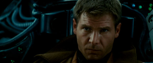Harrison Ford as Deckard in Blade Runner