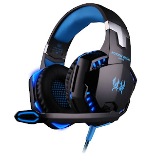 GREAT DISCOUNT KOTION EACH Over-ear Game Stereo Headsets For Personal Computer £10.38