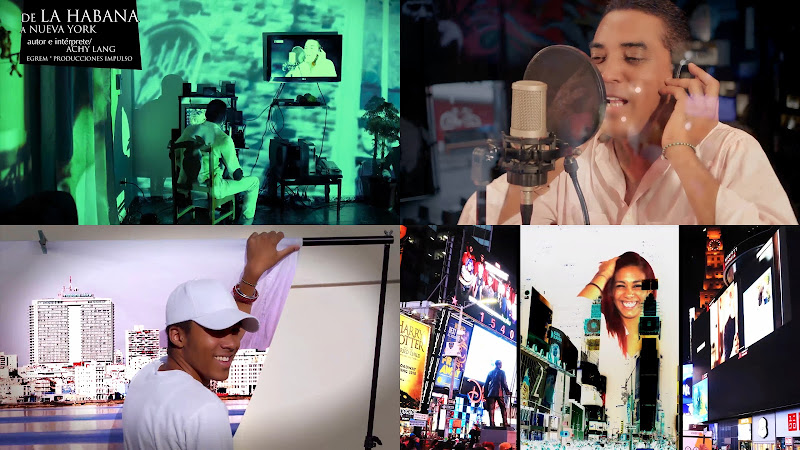 Achy Lang - ¨De La Habana a Nueva York¨ - Videoclip - Dirección: G. SPOT. Portal del Vídeo Clip Cubano