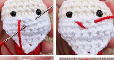 Embroidering Amigurumi Faces : How to embroider mouth sayjai amigurumi crochet patterns ~ k and j