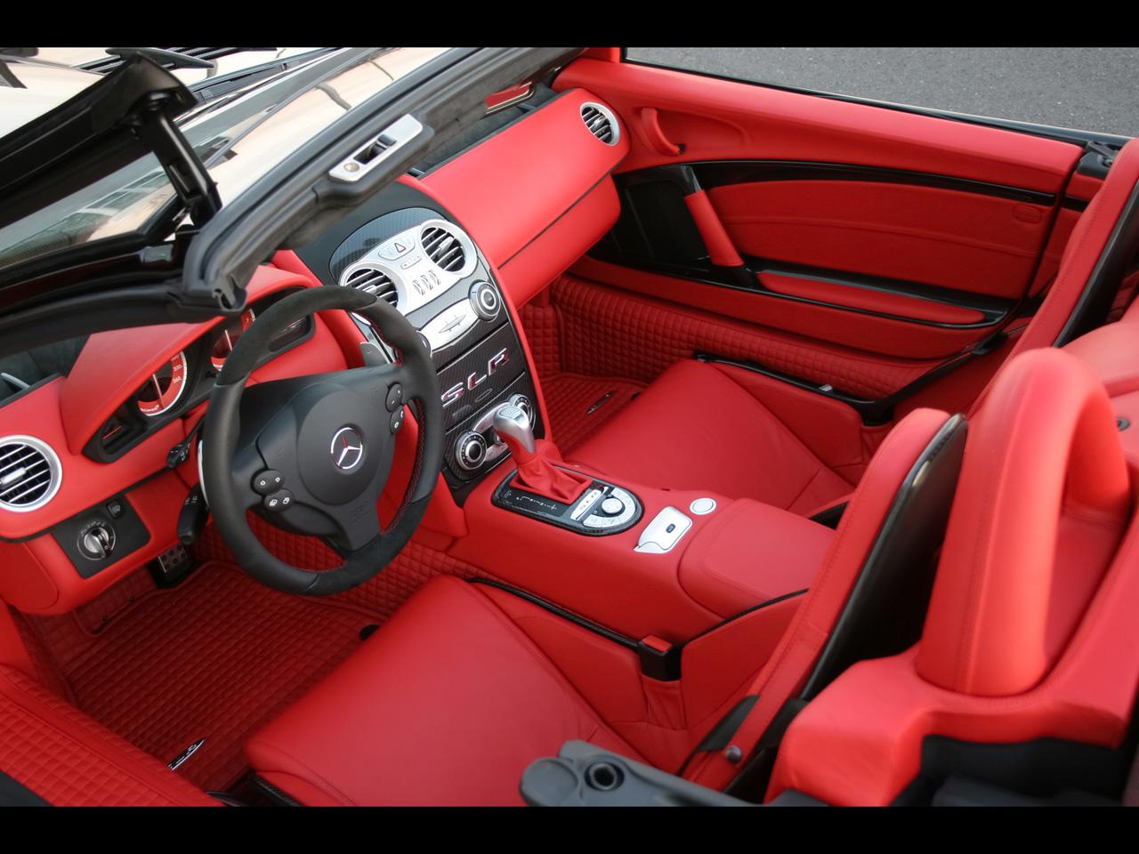Sports Cars Mercedes Benz Slr Interior