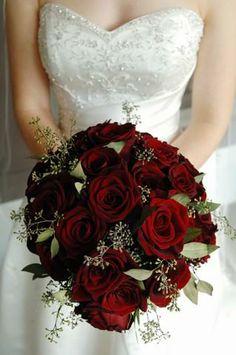 rangkaian bunga pengantin