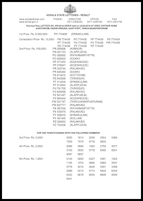 Kerala Lottery Results 22.02.2018 Karunya Plus KN 201 Lottery Result Official PDF www.keralalottery.info-page-001