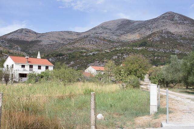 Kroatien Berge - Bucht von Slano