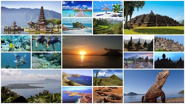 Indahnya Pemandangan Alam Indonesia