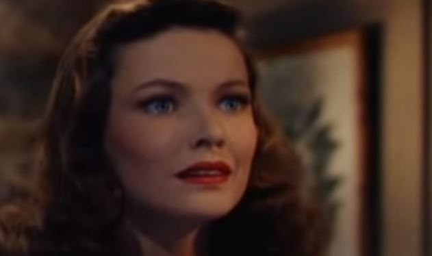 Gene Tierney in Leave Her To Heaven     - A Classic Movie Blog