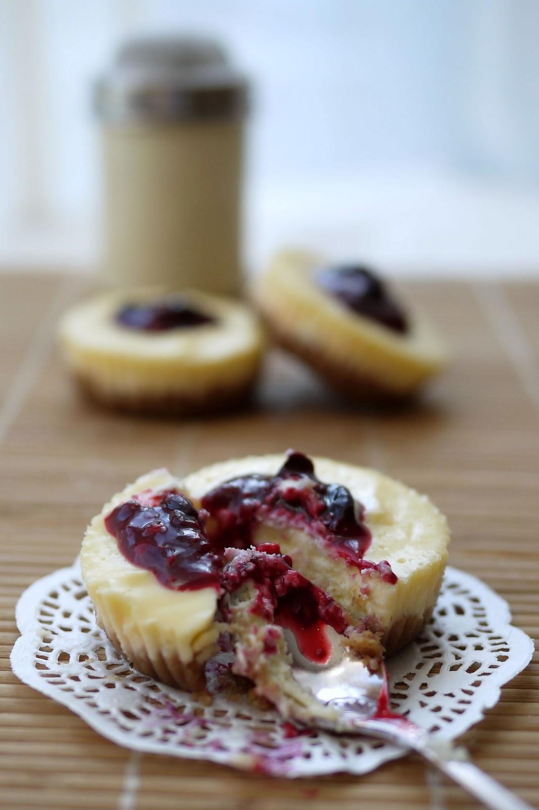Cheesecake mit Beeren | Backen | Kuchen | Rezept
