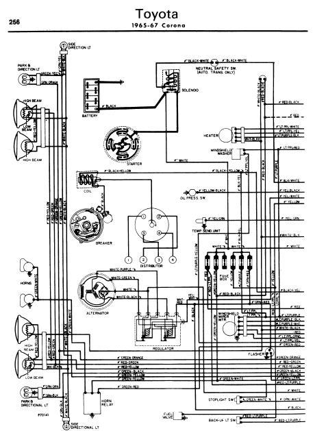 1970s toyota corona repair diagram