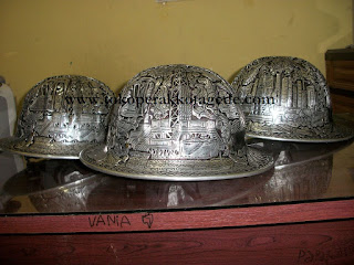 alumunium hat engraving,copper hard hat, brass hard hat, safety helmet,helm ukir,helm pertambangan,helm safety