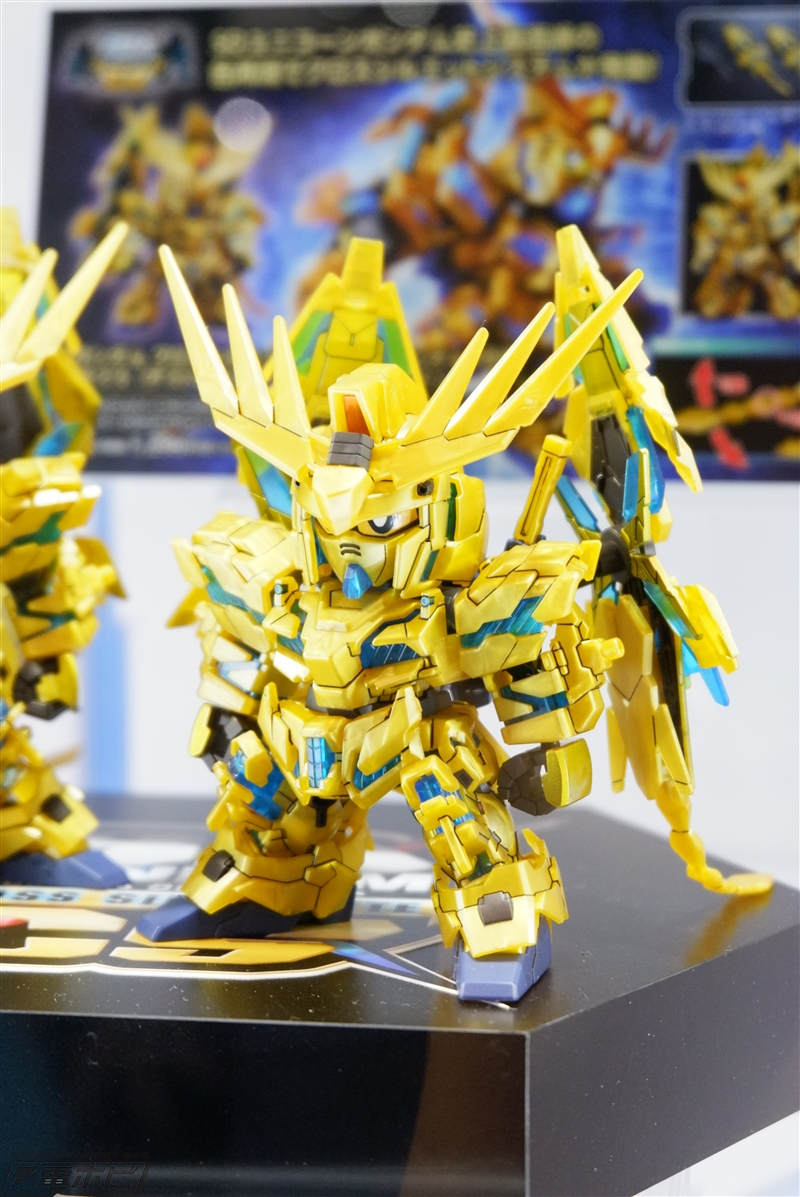 SDCS Unicorn Gundam 03 Phenex [NT] Exhibited at C3 AFA Tokyo 2018 - Gundam Kits Collection News and Reviews