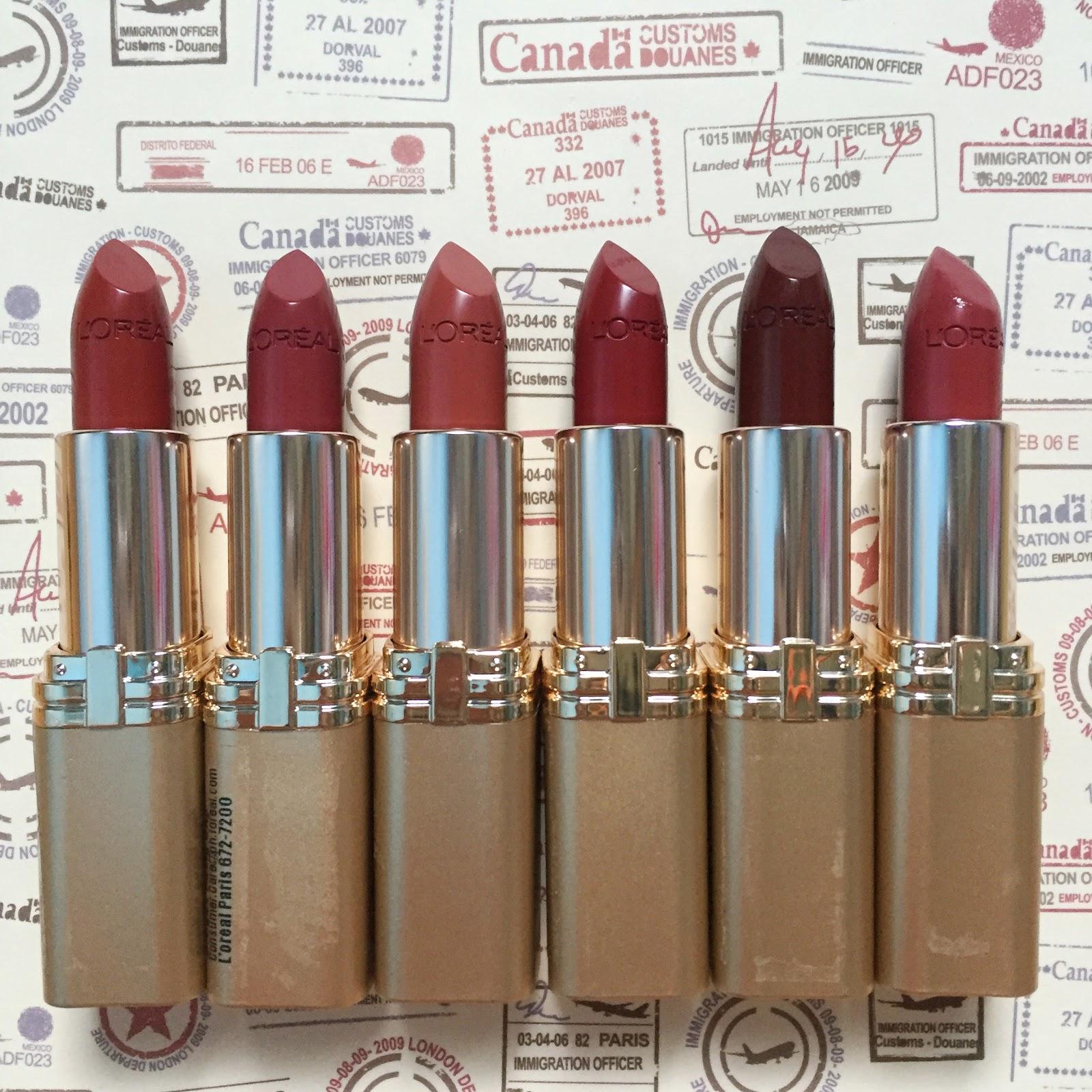 Review L Oreal Makeup Designer Paris Color Riche Matte