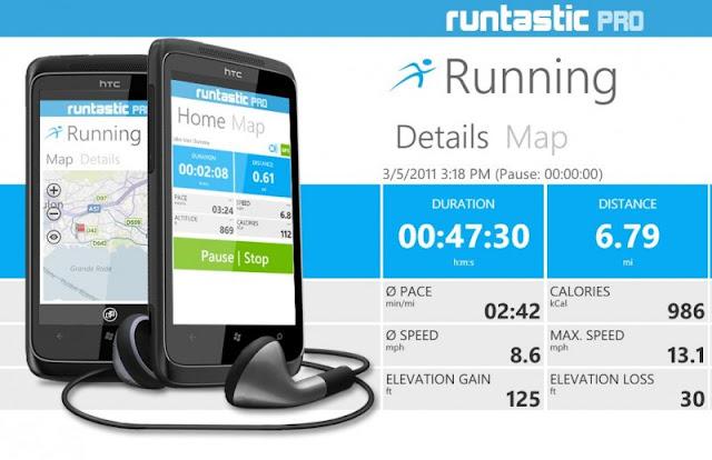 Runtastic PRO (pour iPhone) : Test et avis sur l'application