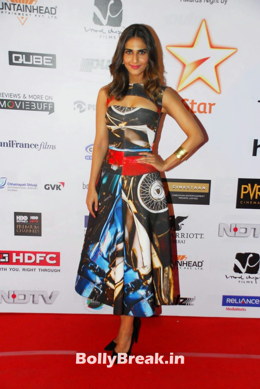 , Vaani Kapoor Latest Photos 2014 on Red Carpet
