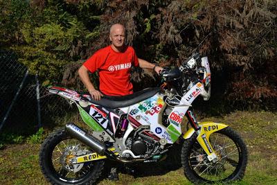 Asiento de moto tapizado para Dakar 2013