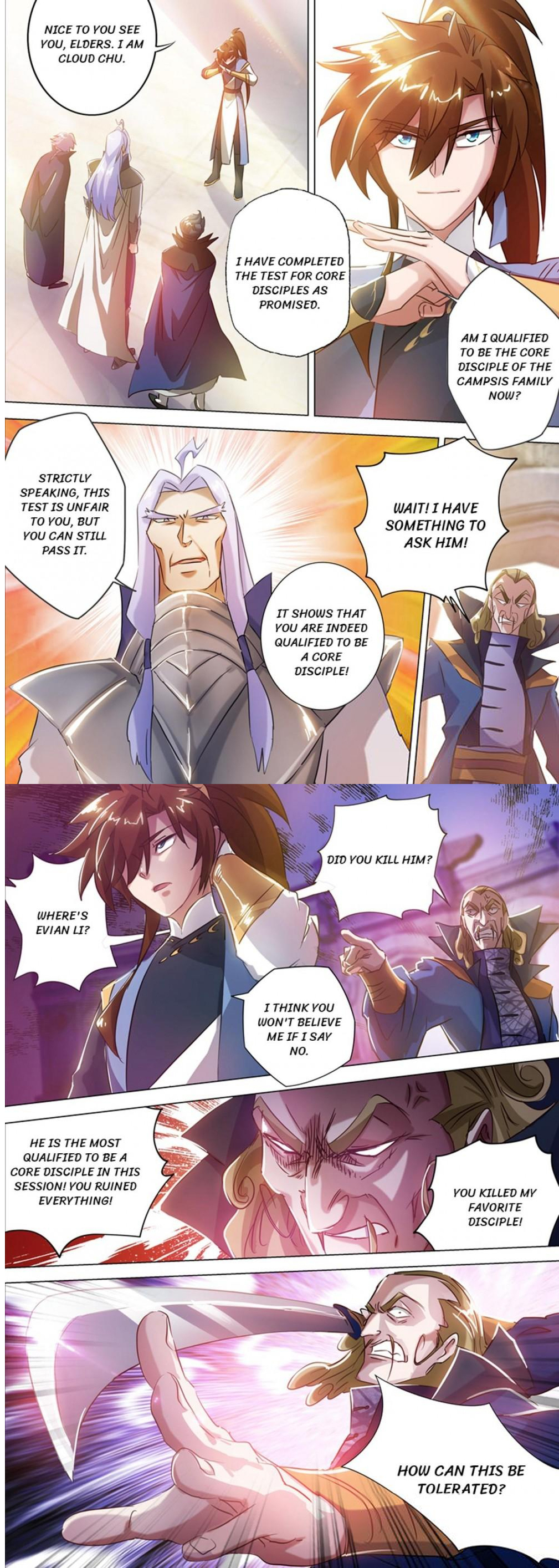 Spirit Sword Sovereign chapter 167 english - YouBa Manga