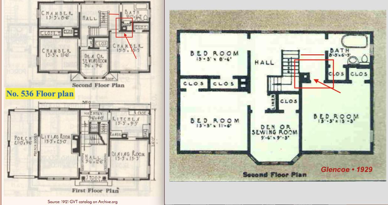 Simple gordon van tine floor plans