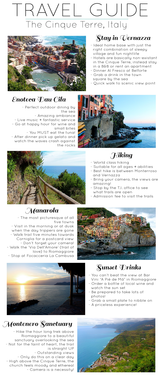 travel guide cinque terre