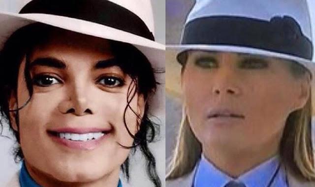 ميلانيا ترامب في زي مايكل جاكسون في مصر