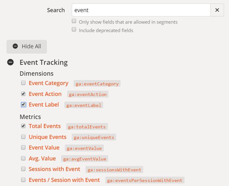 google-analytics-stats-save-to-google-spreadsheet-2.png-從 Google Analytics 撈點擊事件數據報表,儲存於 Google 試算表實作