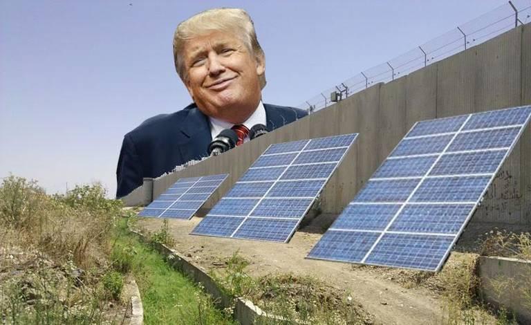 SIC SEMPER TYRANNIS!!! News: Trump Discusses a Border Wall ...