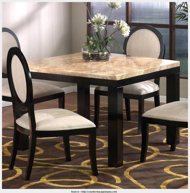 Most Inspiring Marble Top Kitchen Tables Collection