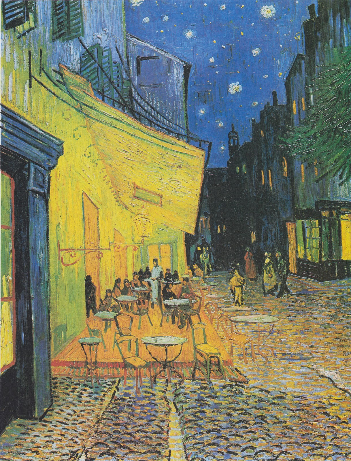 ヴィンセント・ヴァン・ゴッホの夜のカフェテラス