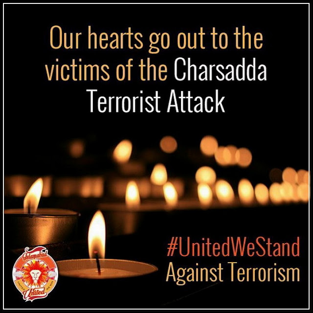 #United We Stand Against Terrorism