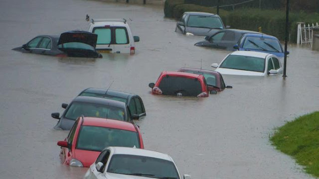 Auto amar News : How to spot a flood-damaged car