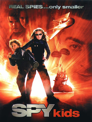 Poster Of Spy Kids (2001) In Hindi English Dual Audio 300MB Compressed Small Size Pc Movie Free Download Only At worldfree4u.com