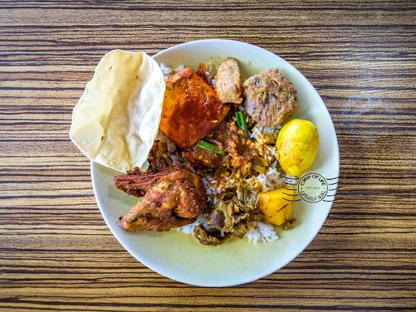 Nasi Campur @ Cargas Cafe, Bayan Lepas, Penang