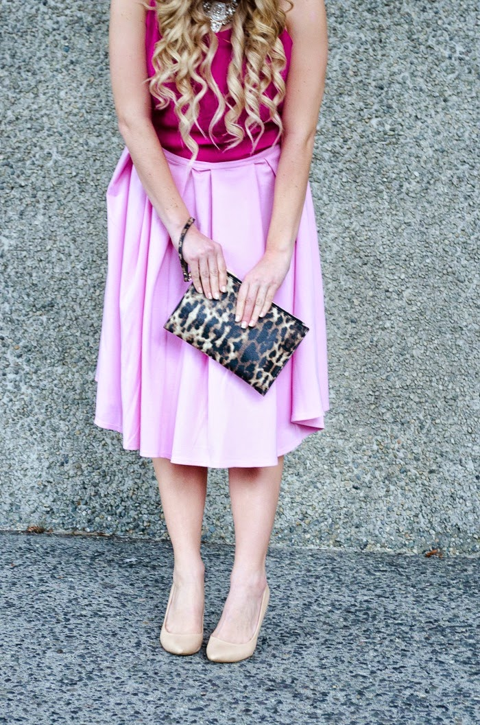 outfit spring pink