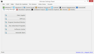Ultimate Settings Panel - Version 3.0 Released 8