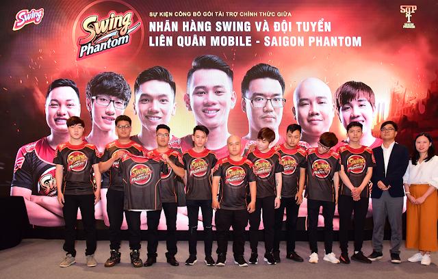 Sự kiện công bố gói tài trợ chính thức Swing Phantom