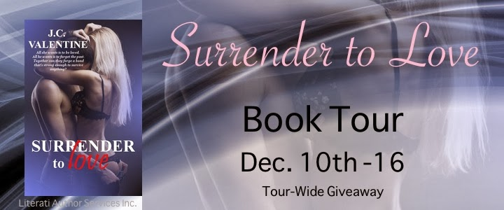 http://literatiauthorservices.com/2013/10/20/book-tour-sign-up-surrender-to-love-by-j-c-valentine-dec-10-16/