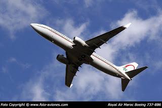 AVIÓN BOEING 737 NEXT GEN CN-ROC