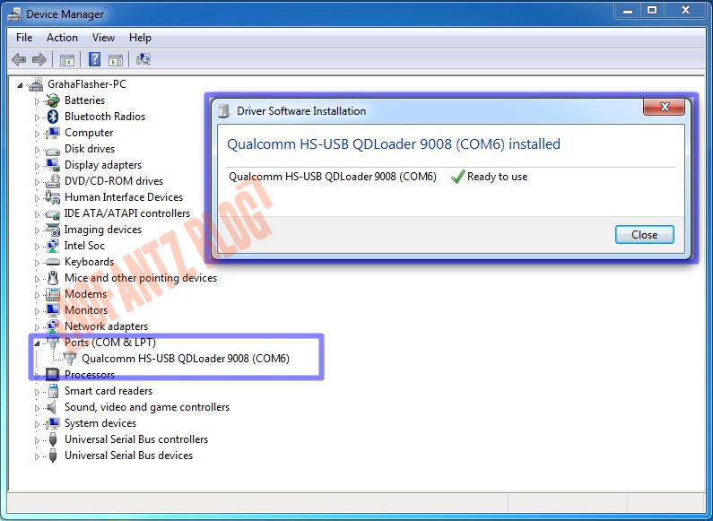 Tutorial Cara Flash Redmi 4A Rolex via PC