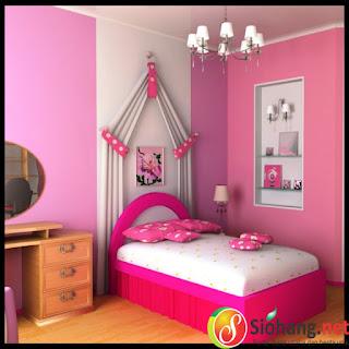 menghias kamar tidur yang sederhana