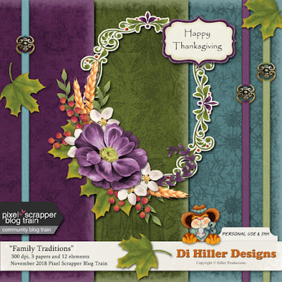 November Blog Train Freebie