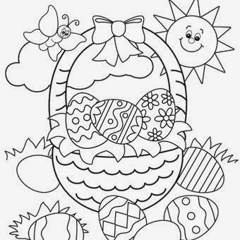 Shine Kids Crafts: Easter Free Printable Coloring Pages