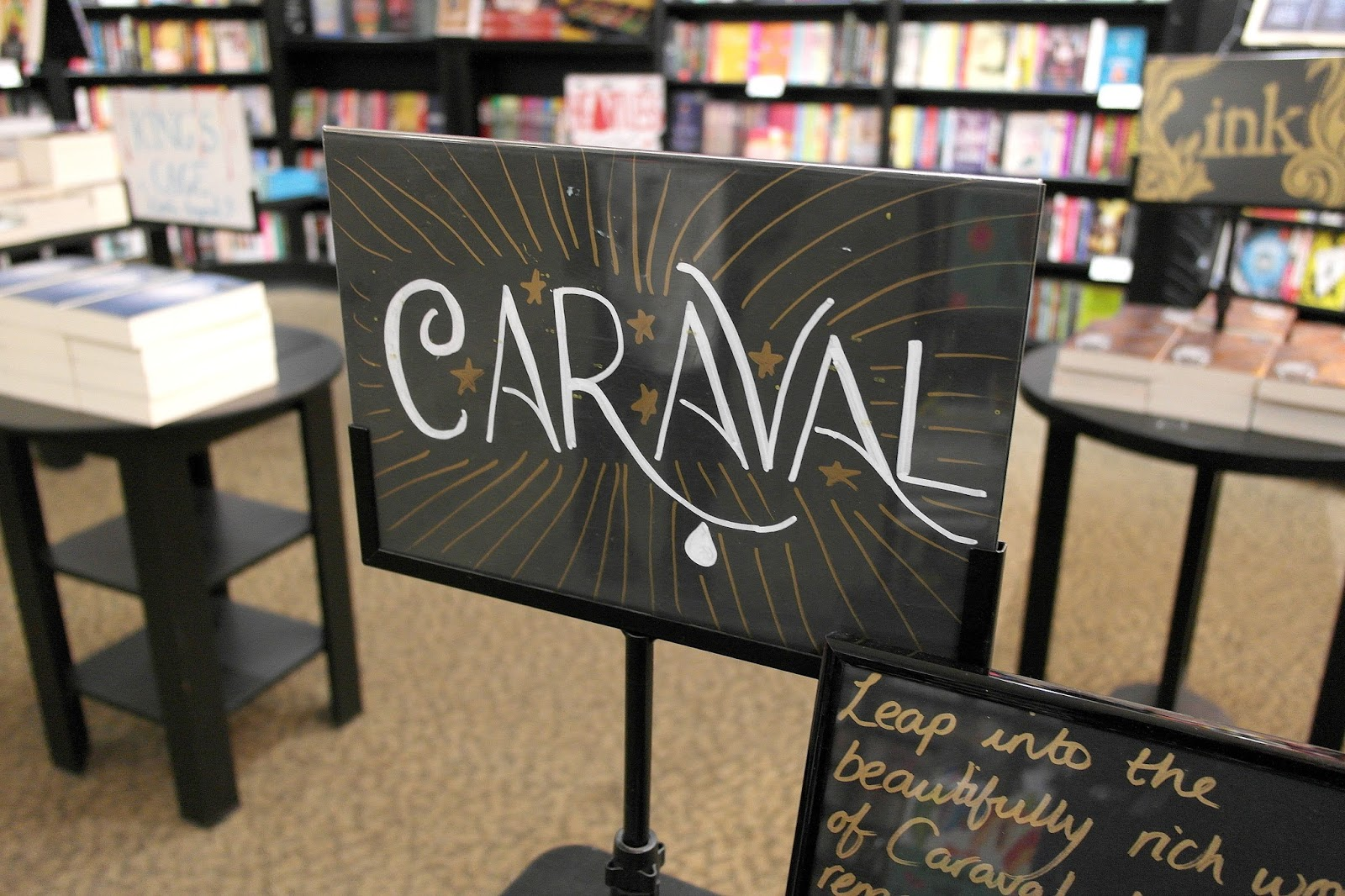 STEPHANIE GARBER BOOK SIGNING: CARAVAL