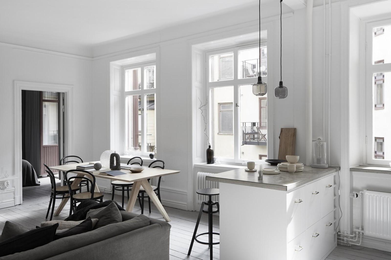 Appartamento a stoccolma shabby chic interiors
