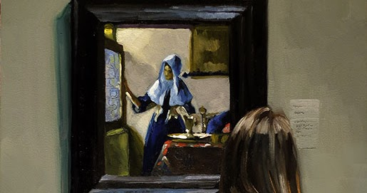an analysis vermeers depictions of domestic worldly women This work is one if vermeer's greatest depictions of dutch culture during the 17th century in this image we see a young lady having a music lesson playing the virginal, a keyboard instrument.