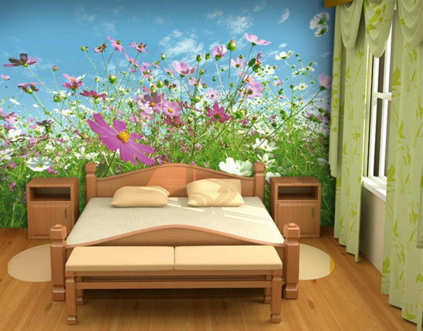 Beautiful Bedroom Wallpaper Designs Ideas ! Home Decor