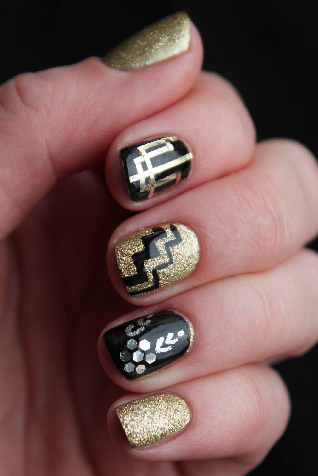 Fundamentally Flawless: Inspiration: The Great Gatsby Nail
